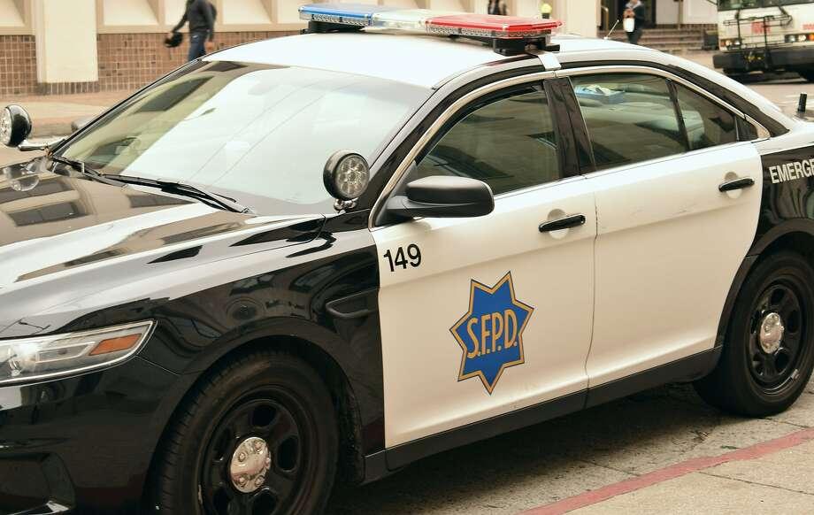 An SFPD patrol car. Photo: Filipa Ioannou