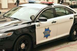 An SFPD patrol car.