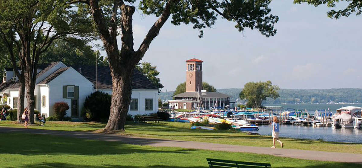 Chautauqua Institution, Chautaqua, NY. Set in western NY, this location mixes lectures, concerts, recreation, classes and faith-based programs in a charming setting on Chautauqua Lake, a six-hour drive west of the Capital Region. Aretha Franklin, E.J. Dionne, the Beach Boys and the Glenn Miller Orchestra are among those appearing this summer. Don't miss the bookstore and the cafe.