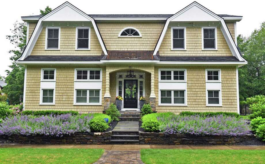 saratoga springs home accented with new england touches times union