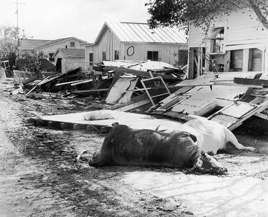 Hurricane Audrey hit the Gulf six decades ago.>>Click to see scenes from 1957's deadly Hurricane Audrey. Photo: Bettmann/Bettmann Archive