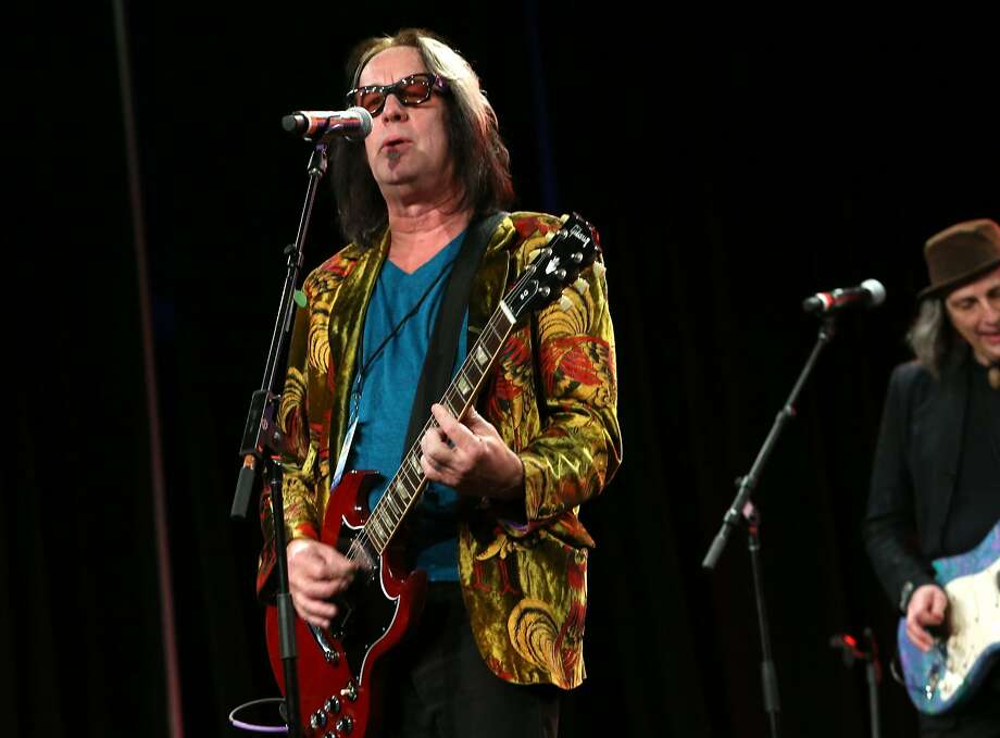 Todd Rundgren started with psychedelic rock in the 1960s and has crisscrossed genres. Photo: Jesse Grant, Getty Images