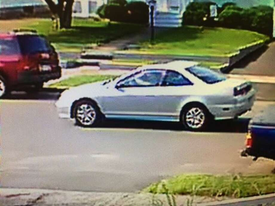 Hamden police have obtained security camera footage of the vehicle believed to be driven by a man who exposed himself to a young girl July 15. According to police Capt. Ronald Smith, police learned a witness had observed the same type of motor vehicle — described as a silver, two-door Honda Accord parked near the entrance of Legion Field — in the moments prior to the incident on Mather Avenue. Photo: /