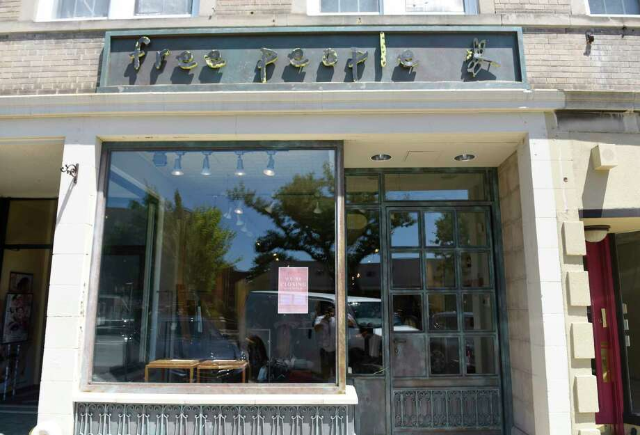 Free People, located at 351 Greenwich Ave. in Greenwich, Conn., will be closing Thursday, July 27, 2017. Photo: Tyler Sizemore, Hearst Connecticut Media / Greenwich Time