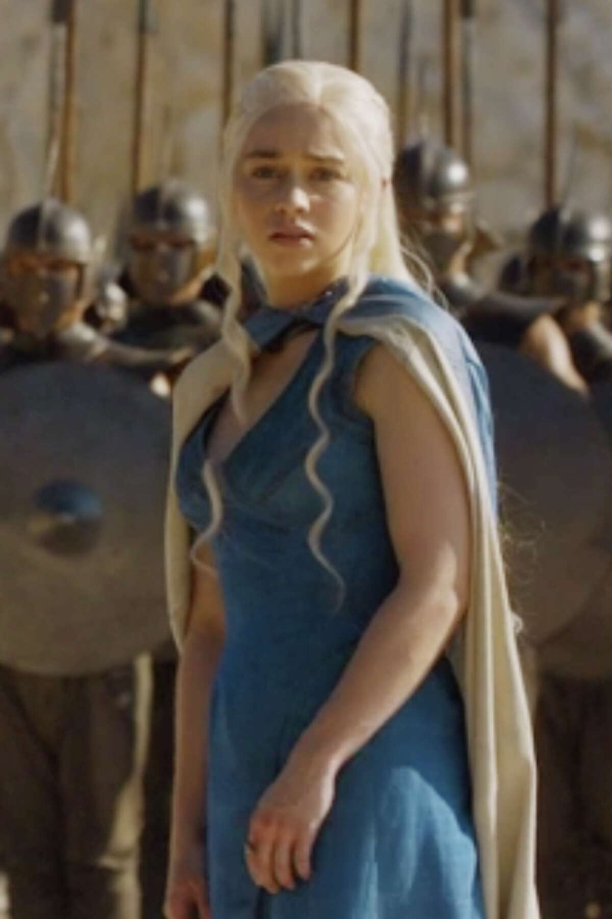 Emilia Clarke who plays Daenerys Targaryen will be in Houston. >>Need to catch up on Game of Thrones? Here's where we last left off.