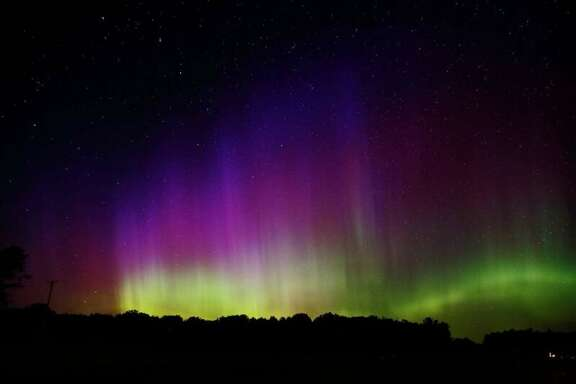 "Look up: It's possible to see the northern lights in Midland. Tim Wenzel captured video of the stellar show. ""It turns out Midland is at a good latitude for photographing auroras, but not many people seem to know that,"" he said in March: http://bit.ly/2vjhuMA"