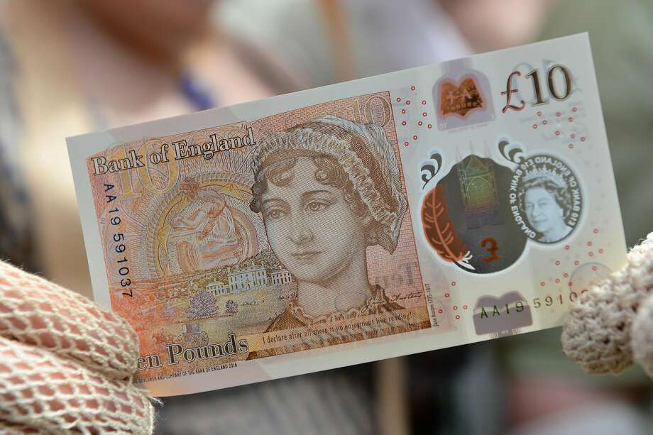 The 10-pound Jane Austen note is due out in September. Photo: Pool, Getty Images