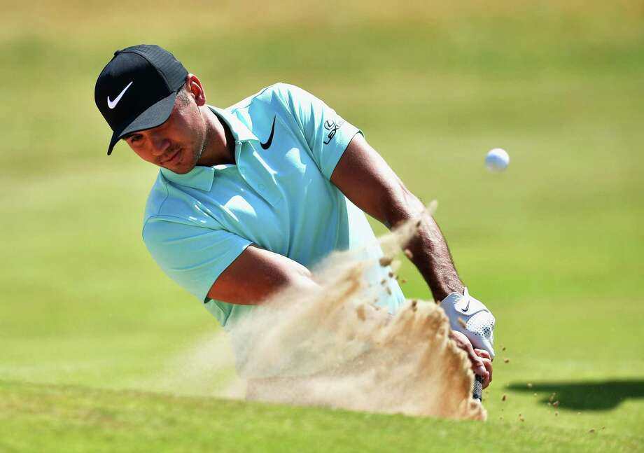 SOUTHPORT, ENGLAND - JULY 18:  Jason Day of Australia hits a bunker shot during a practice round prior to the 146th Open Championship at Royal Birkdale on July 18, 2017 in Southport, England.  (Photo by Stuart Franklin/Getty Images) Photo: Stuart Franklin, Staff / 2017 Getty Images