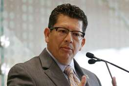 Richard Perez, President and CEO of the San Antonio Chamber of Commerce, was in Montreal Monday for a meeting of U.S., Mexican and Canadian chambers in support of the North American Free Trade Agreement.