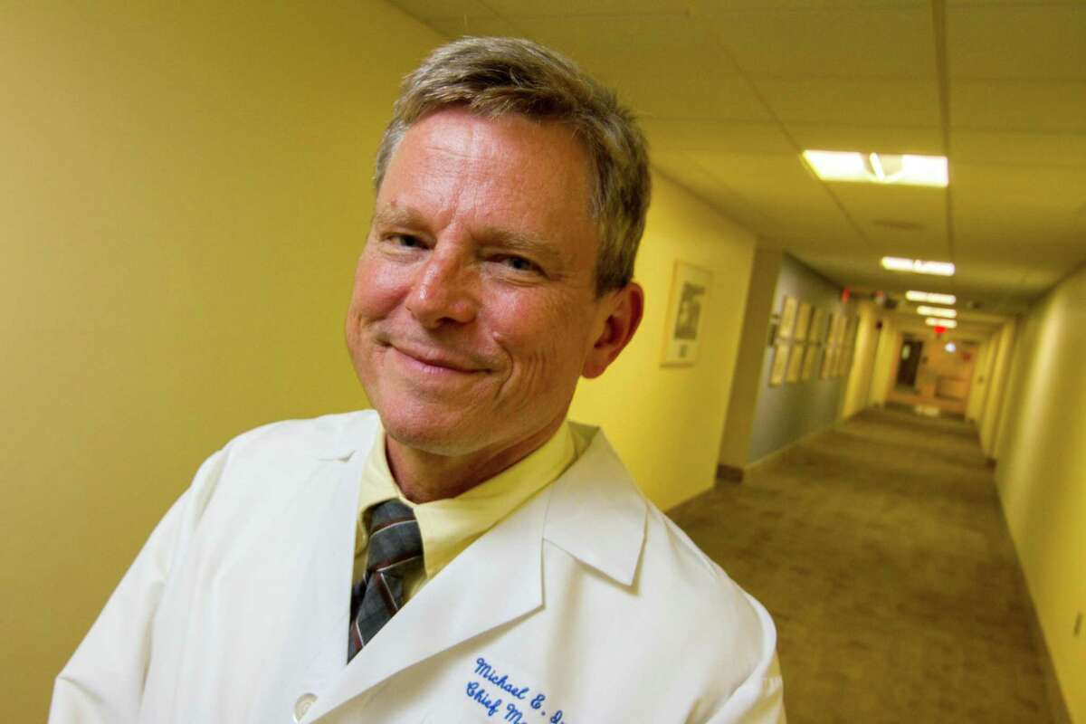 Dr. Michael Ivy, is chief medical officer of Bridgeport Hospital and deputy chief medical officer of Yale New Haven Health.