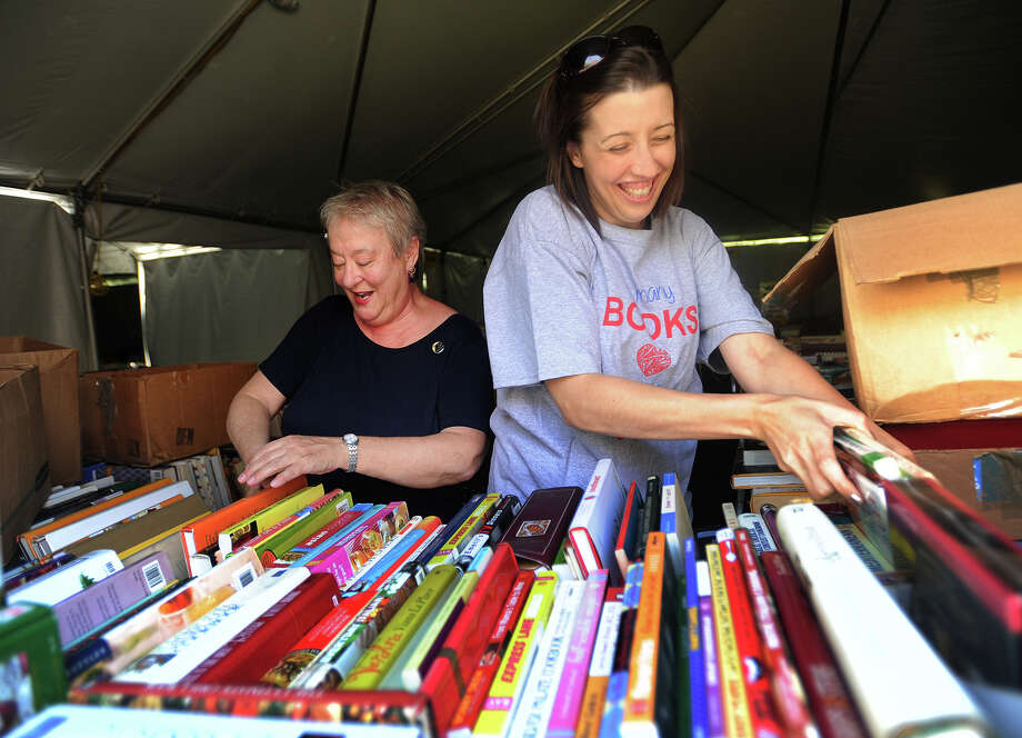 Stock up at the annual Summer Book Sale at the Pequot Library in Southport. The book sale kicks off on Friday and runs through Tuesday, July 25. Find out more.  Photo: Brian A. Pounds, Hearst Connecticut Media / Connecticut Post