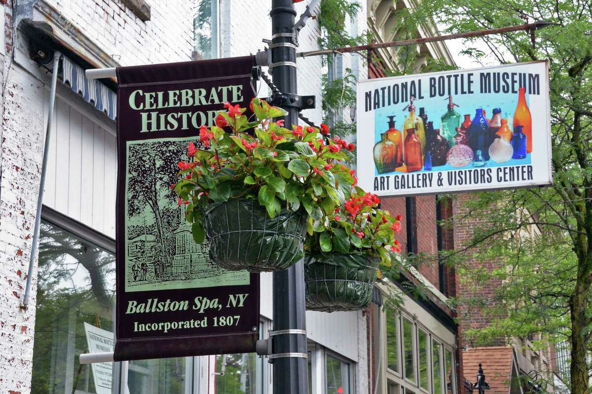 The National Bottle Museum on Milton Avenue Tuesday June 27, 2017 in Ballston Spa, NY. (John Carl D'Annibale / Times Union)