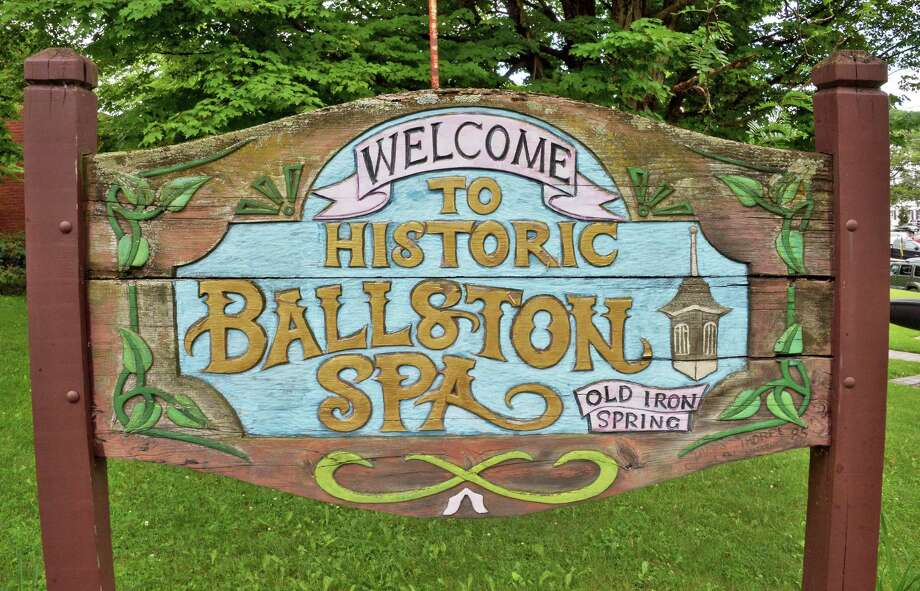 Welcome sign on Milton Avenue Tuesday June 27, 2017 in Ballston Spa, NY.  (John Carl D'Annibale / Times Union) Photo: John Carl D'Annibale / 20040898A