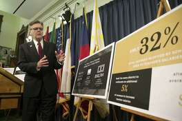 Lt. Gov. Dan Patrick discusses his special session plan to boost teacher pay during a press conference at the Capitol. A reader blasts Patrick for what he sees as his political machinations.