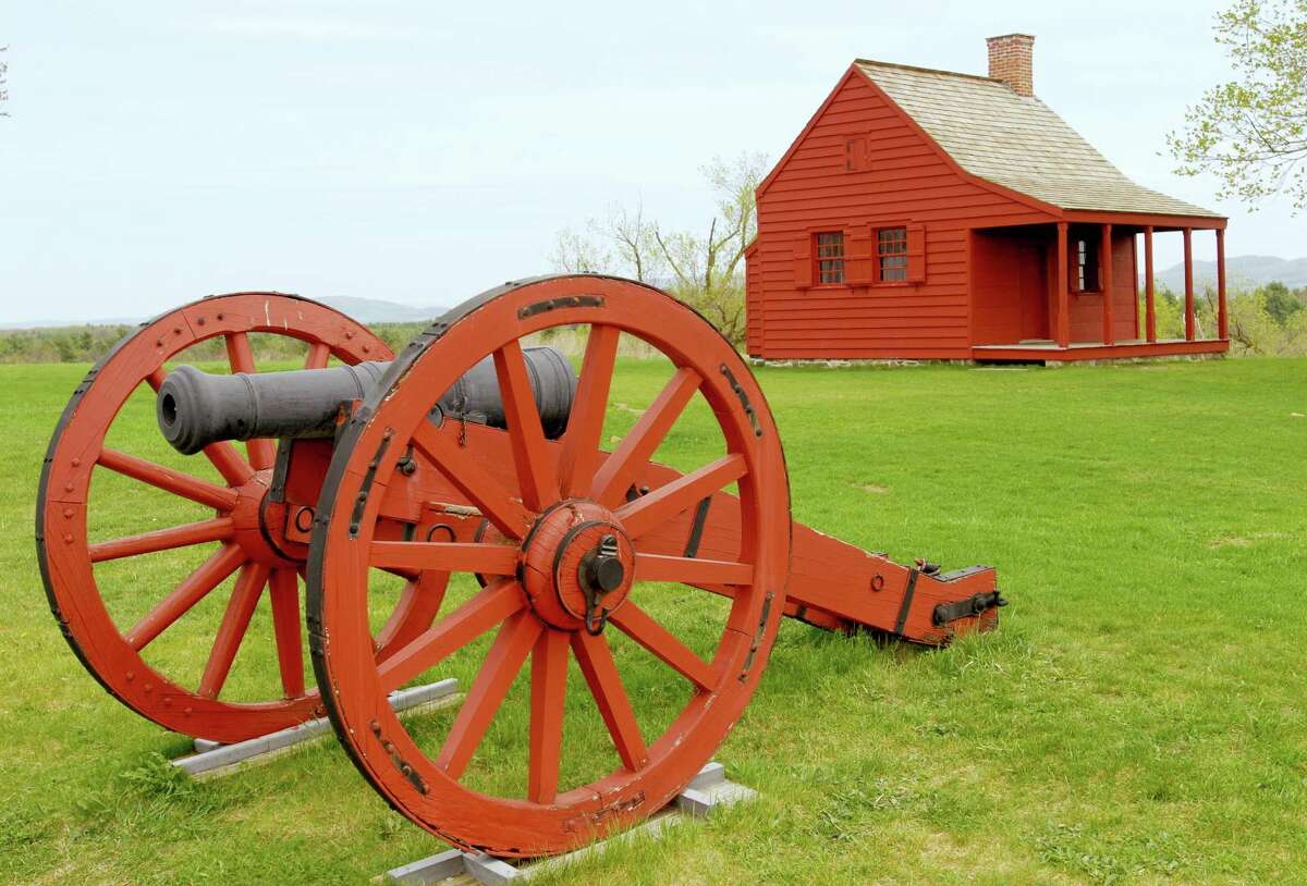 The Saratoga National Historical Park, at the Saratoga Battlefield, is known as the