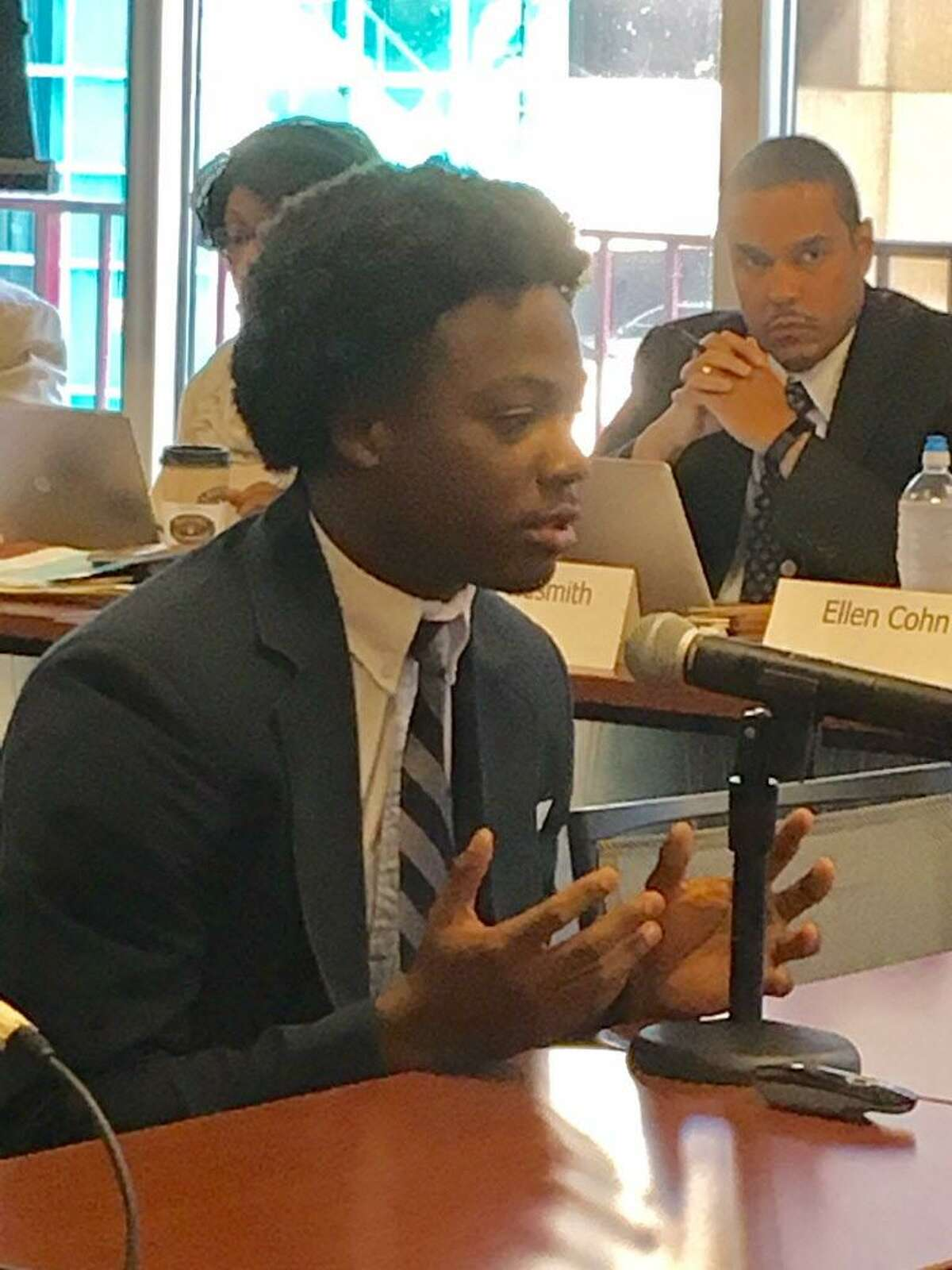 A Capital Prep Harbor student tells State Board of Education his school should expand