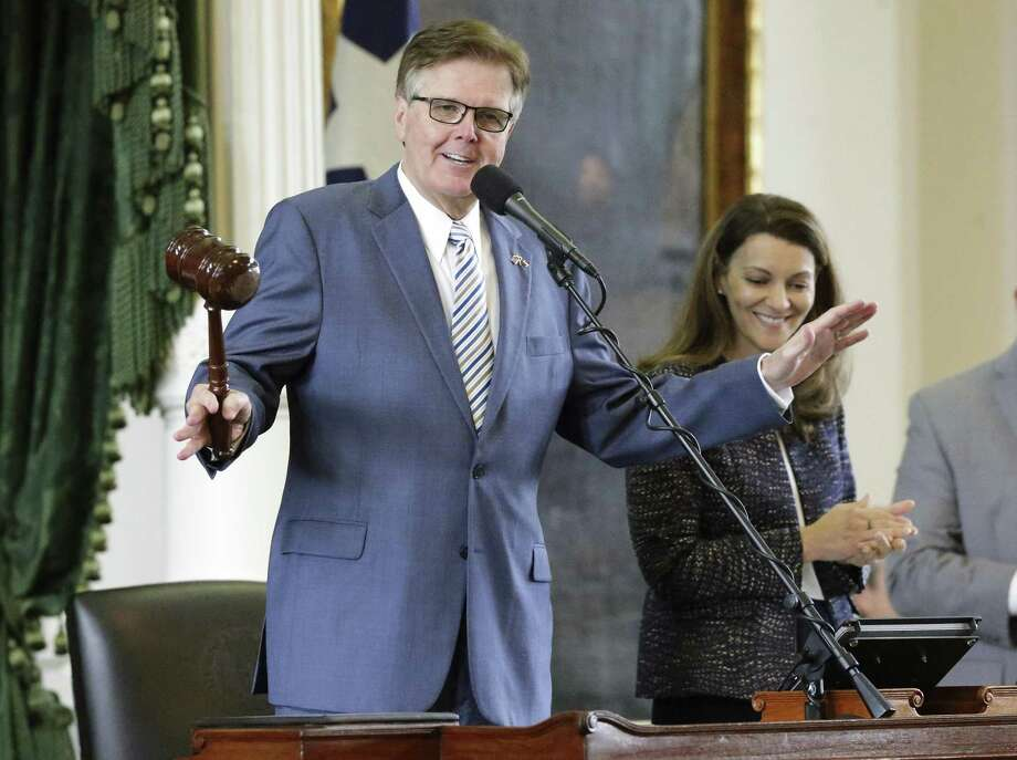 Lt. Gov. Dan Patrick has been one of the state legislature's biggest proponents of passing a bill that restricts transgender men and women's access to restrooms. Photo: Tom Reel /San Antonio Express-News / 2017 SAN ANTONIO EXPRESS-NEWS
