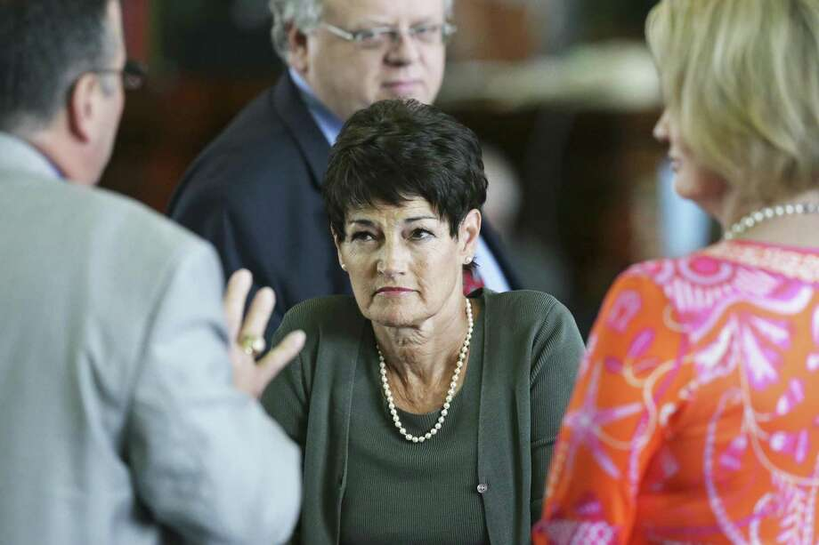 Sen. Donna Campbell, R-New Braunfels, listens to arguments on the floor on the second day of the special legislative session on July 18, 2017. A reader believes a Campbell bill on aggregate production will not be effective. Photo: Tom Reel /San Antonio Express-News / 2017 SAN ANTONIO EXPRESS-NEWS