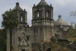 The proposed development would violate height restrictions near Mission Concepción by 11 feet.