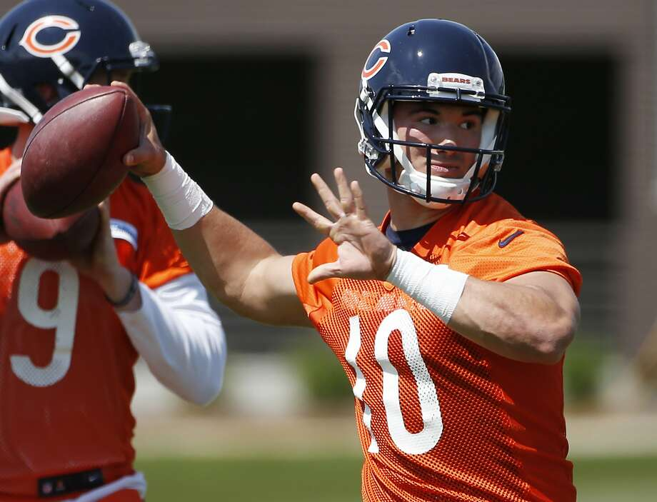 The Bears traded up in a swap of draft picks with the 49ers to take quarterback Mitchell Trubisky in April's draft. Photo: Nam Y. Huh, Associated Press
