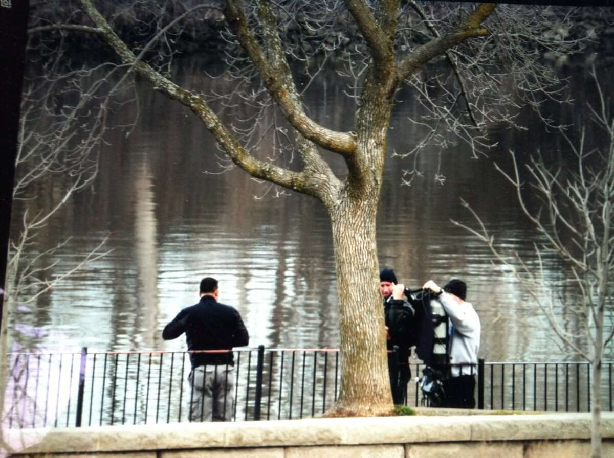 Authorities returned to Hudson River in Troy to search for Noel Alkaramla on Saturday, Dec. 5, 2015. She has been missing since Nov. 22. (Michael P. Farrell/Times Union)