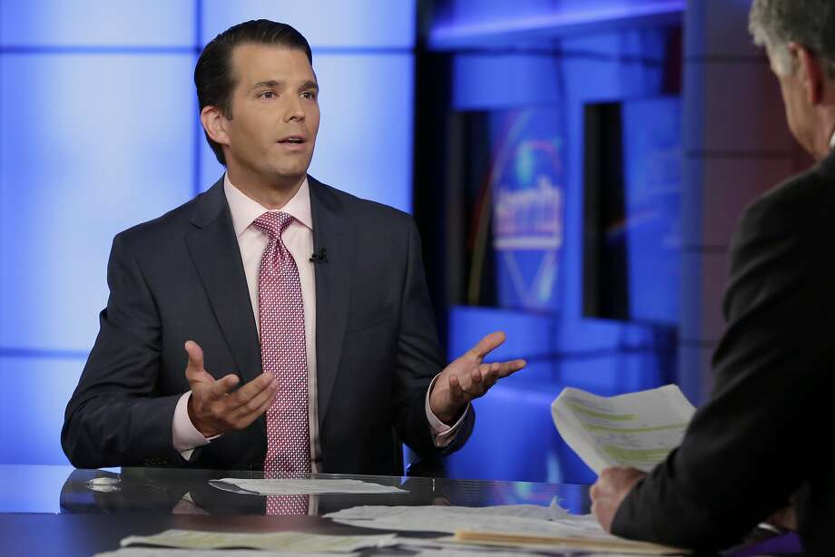 Donald Trump Jr. issued a statement about meeting with a Russian lawyer that later proved misleading