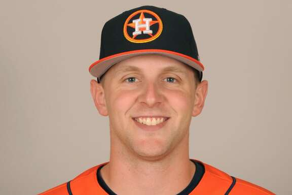 Astros minor league pitcher Alex Winkelman.