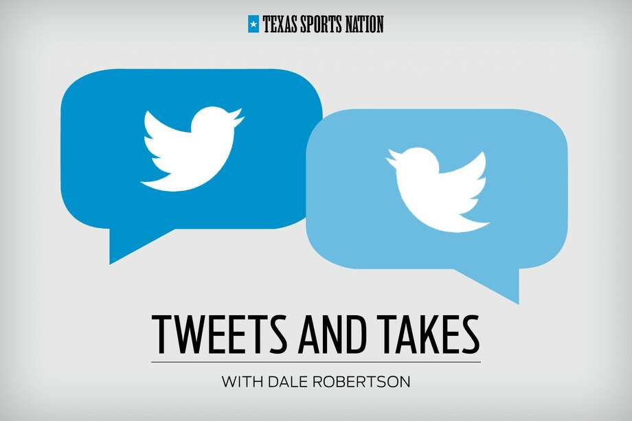 Each week, Dale Robertson goes beyond the 140 characters Twitter allows.Click through the gallery for Dale's Tweets & Takes from this week's Texas Sports Nation. Photo: Katie McInerney / Houston Chronicle