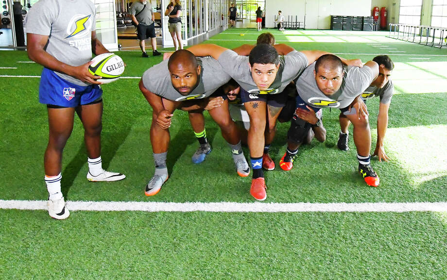 The Houston Strikers Held First Of Two Summer Combines Saay July 15 At