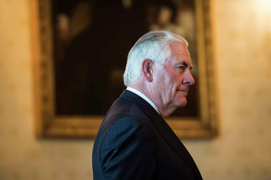 Secretary of State Rex Tillerson at the White House in June. Photo: Washington Post Photo By Jabin Botsford. / The Washington Post