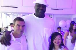 Chloe Dao designed the birthday dress for Shaquille O'Neal's 21-year-old daughter, Taahirah, who celebrated her birthday with her dad and friends at an all-white party in Houston.
