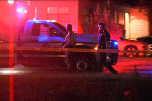 The slain boy and injured woman, as well as another 7-year-old boy, were inside the home in the 200 block of Hub Avenue around midnight, when the shooter drove by and opened fire, police said.