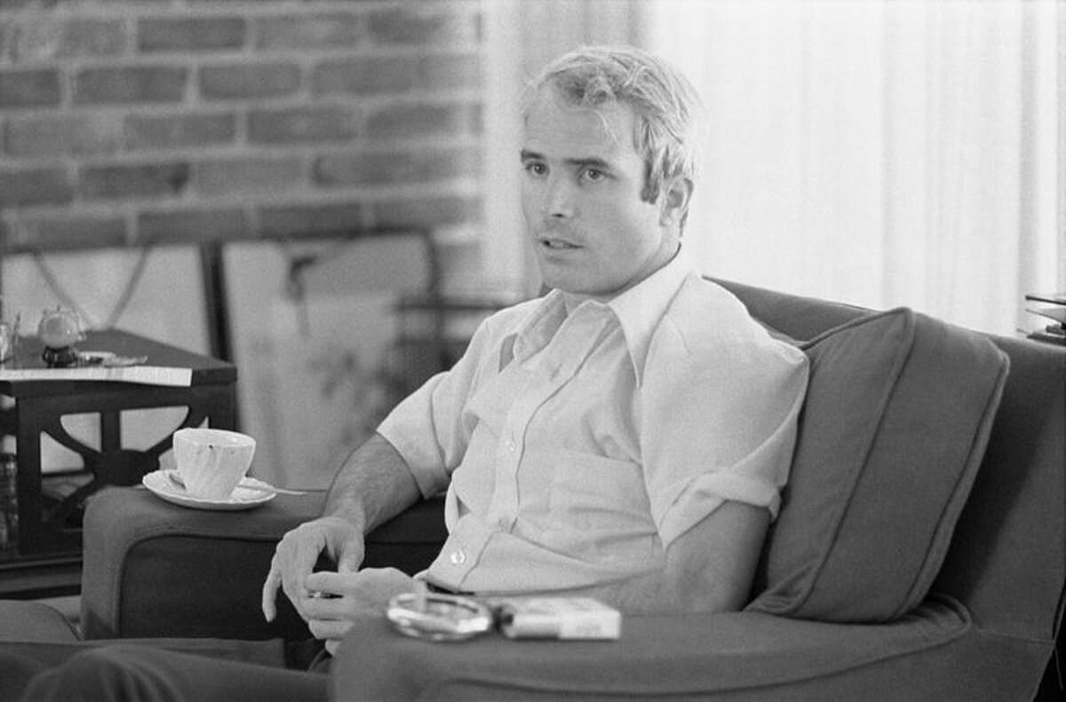 John McCain in an interview shortly after his release from a POW camp in 1973.