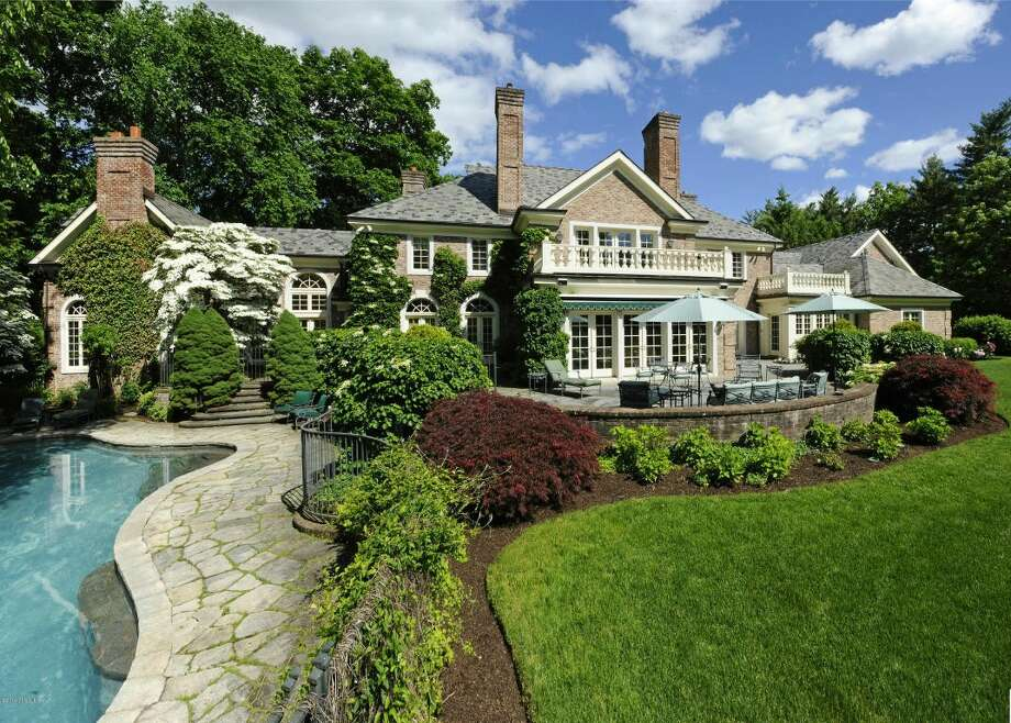Among Greenwich properties that sold in the quarter was an 8,535-square-foot (793-square-meter), six-bedroom home on Khakum Wood Road that had been on the market since 2008. The home finally sold in April for $5.8 million, or 60 percent less than its 2008 price. Photo: Realtor.com