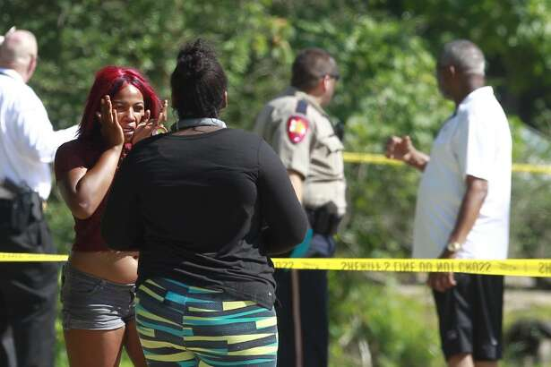 The Montgomery County Sheriff's Office investigating a shooting in the Tamina community were two people were found dead.