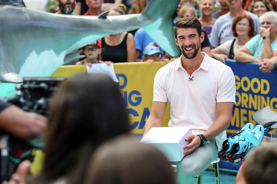 Michael Phelps says he was 'safe' during race with shark