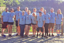 Mission trip participants are in front, from left: Sheila Page, Madison Kane, Kendall Smith, Casey Budden and Brittney Page. In back are, from left: Dave Rader, Trish Rader, Dustin Franke, Isabelle Kane, Rhonda Grammer, Brandy Page, Jordan Grammer and Sydney Grammer.