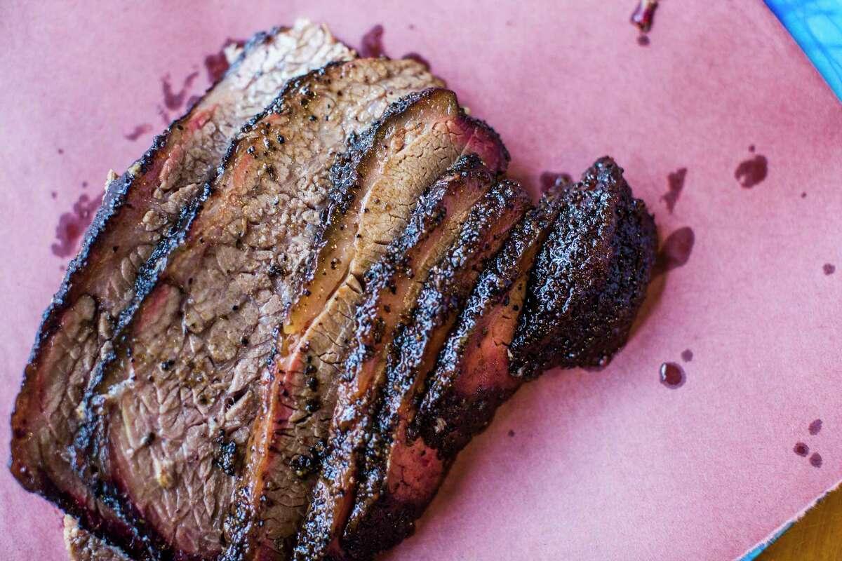 Brisket from Franklin Barbecue in Austin