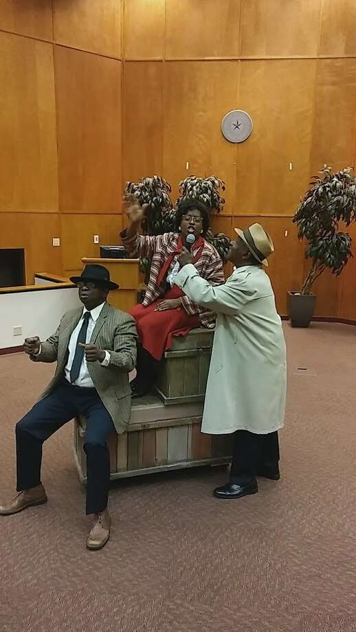 "Theater with a message comes to Midland this weekend when the Houston-based The Ensemble Theatre presents ""I, Barbara Jordan"" in collaboration with the Midland County Public Library.  Photo: Courtesy Photo"