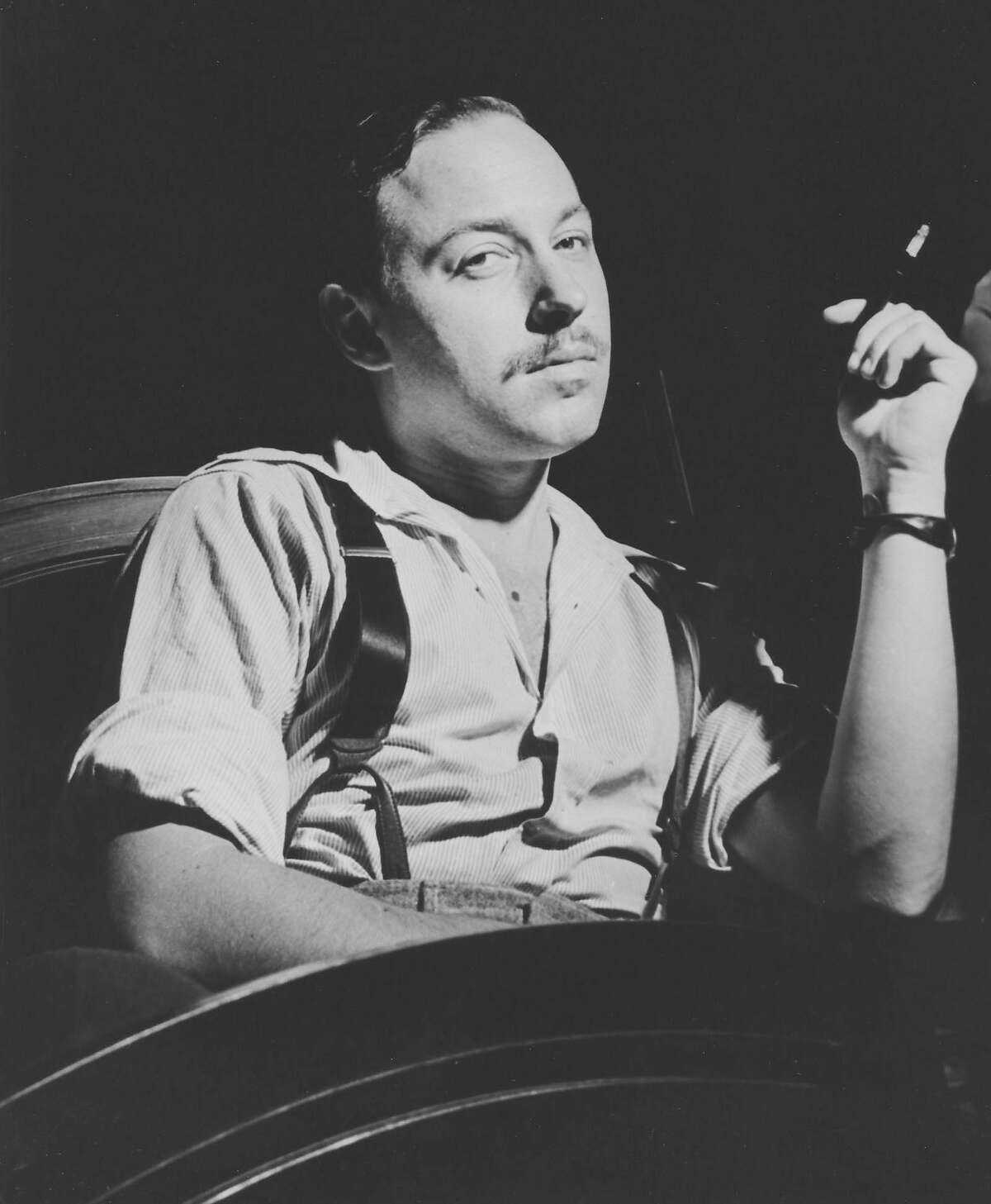 American playwright Tennessee Williams (1911 - 1983), circa 1955. (Photo by FPG/Archive Photos/Getty Images)