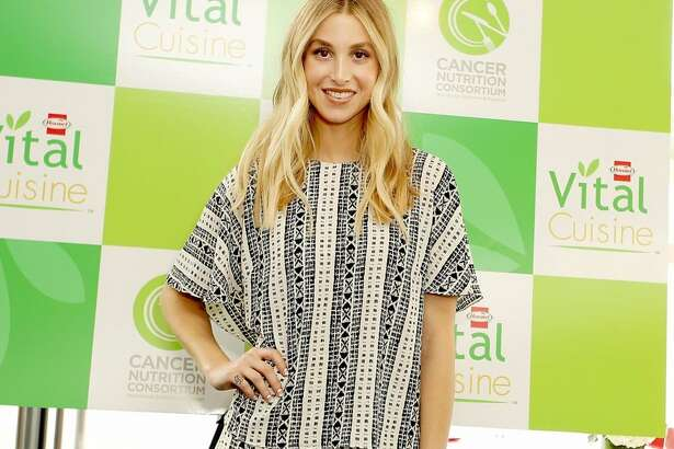 Whitney Port, who lost her father to cancer, at the launch of Hormel Vital Cuisine.