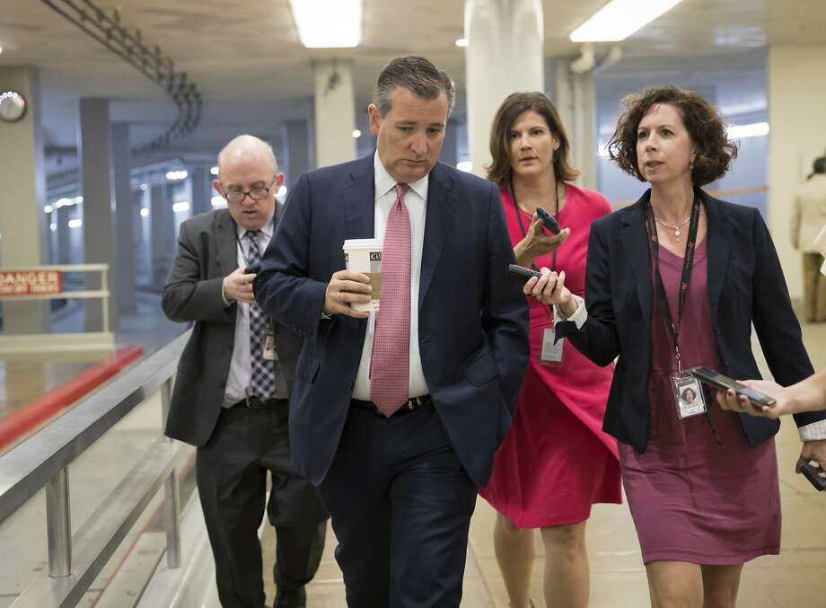 Texas Sen. Ted Cruz has pushed a provision that would allow insurers to offer low-cost, stripped-down insurance plans. The proposal has been assailed by the insurance industry. Photo: J. Scott Applewhite, Associated Press