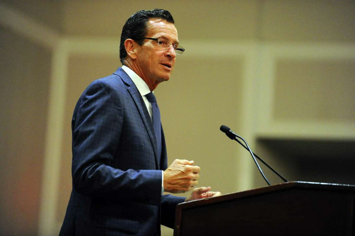 Gov. Dannel Malloy, in this file photo, said Friday he was disappointed that he had to issue an executive order Friday to keep the state government functioning until lawmakers agree on a new two-year spending plan.