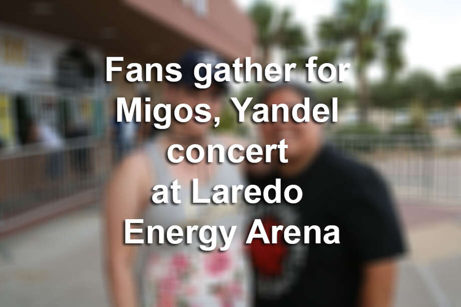Click through this gallery to see photos of fans in Laredoans waiting for the doors to open at Laredo Energy Arena for the Migos and Yandel concert in July.