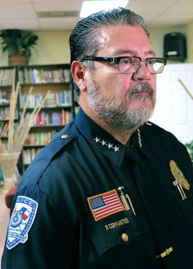 Rio Bravo Police Chief Rene Cervantes is pictured in this file photo. Photo: Cuate Santos/Laredo Morning Times