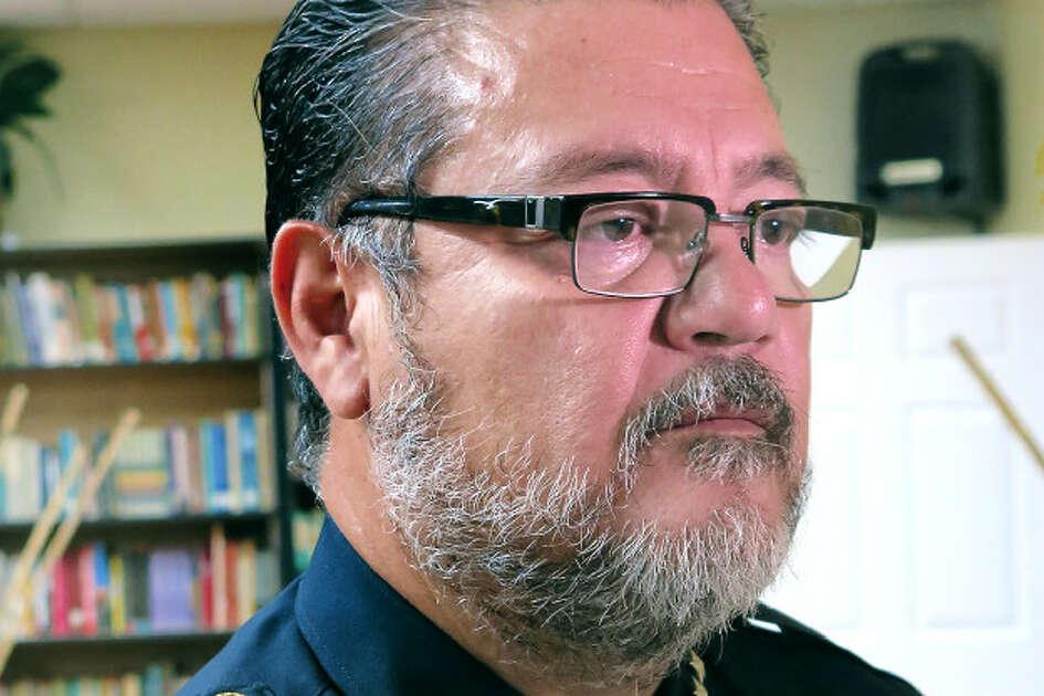 Rio Bravo Police Chief Rene Cervantes is pictured in this file photo.