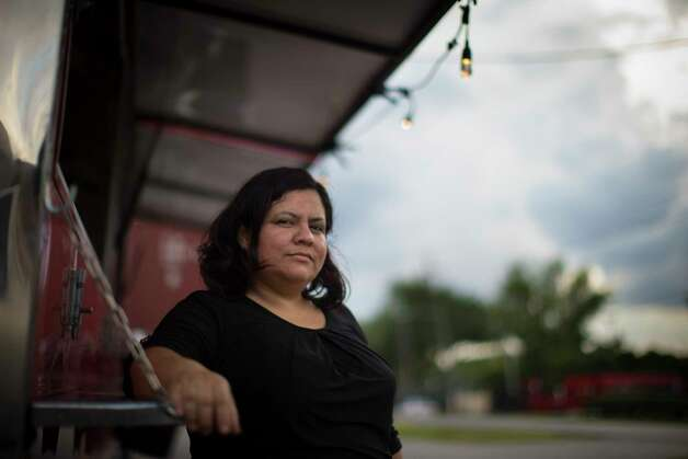 Wendy Martel is an undocumented owner of a taco truck and has been business decline as more customers are refusing to leave their homes after dark. Tuesday, May 30, 2017, in Houston. Photo: Marie D. De Jesus, Houston Chronicle / © 2017 Houston Chronicle