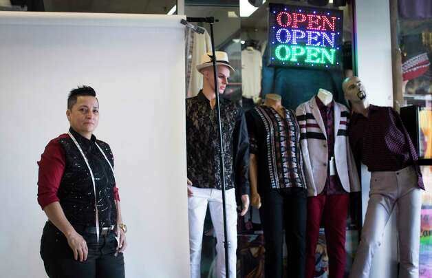 Emilia Alvarez, 43, is a trained fashion designer and the owner of E-MilyÕs Boutique, a business with a clientele mostly serving immigrants. Wednesday, July 12, 2017, in Houston. Photo: Marie D. De Jesus, Houston Chronicle / © 2017 Houston Chronicle