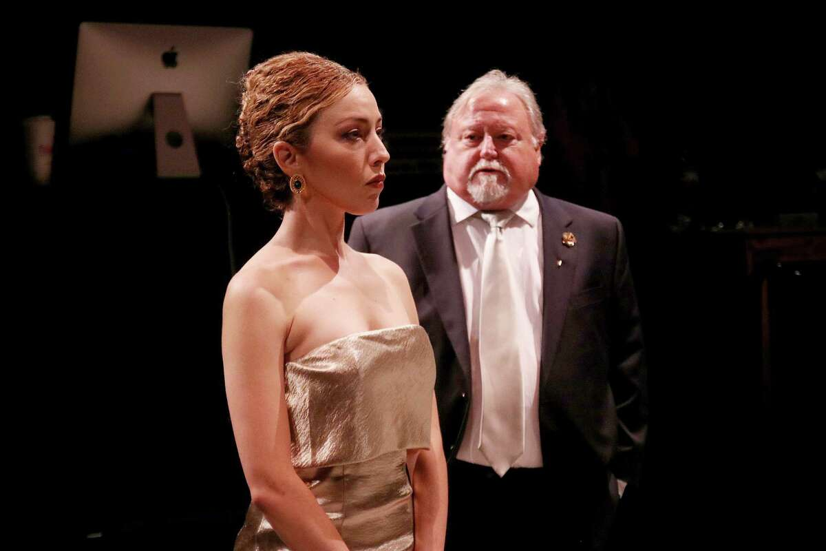 """Lisa Villegas and Rutherford Cravens star in Main Street Theater's """"The Last Wife."""""""