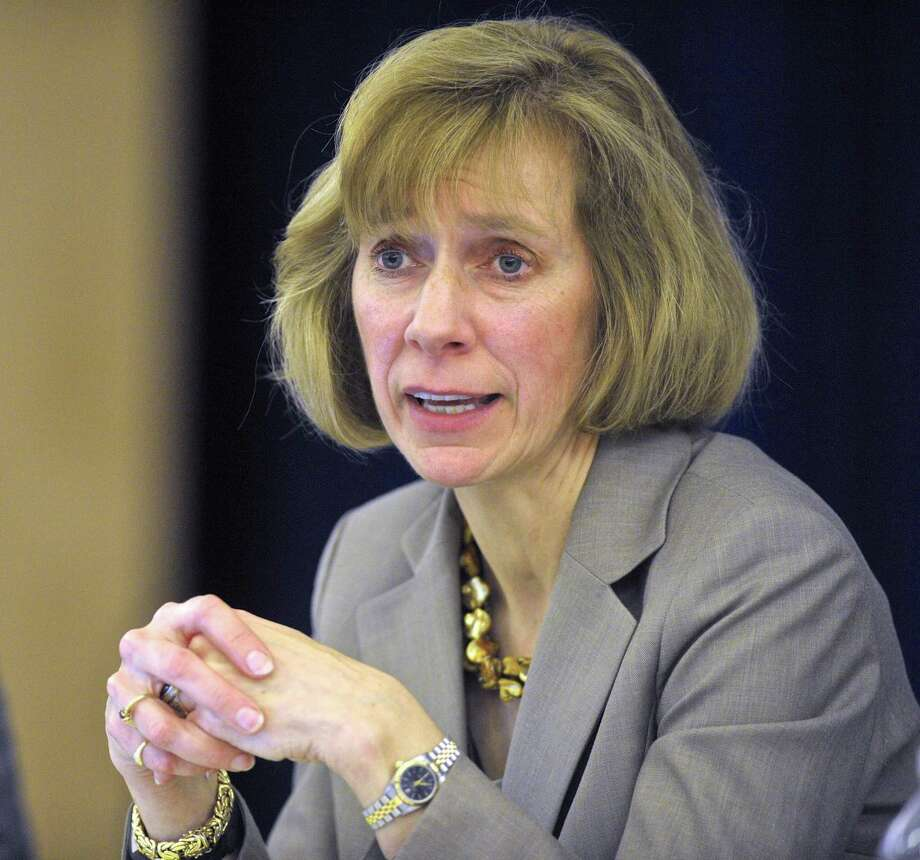 New Fairfield Superintendent of Schools Alicia Roy Photo: H John Voorhees III / Hearst Connecticut Media / The News-Times